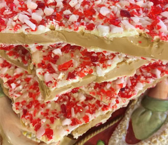 Candy Cane Toffee