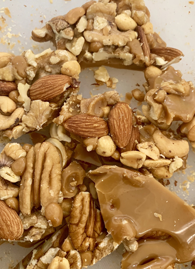 Nutty Toffee